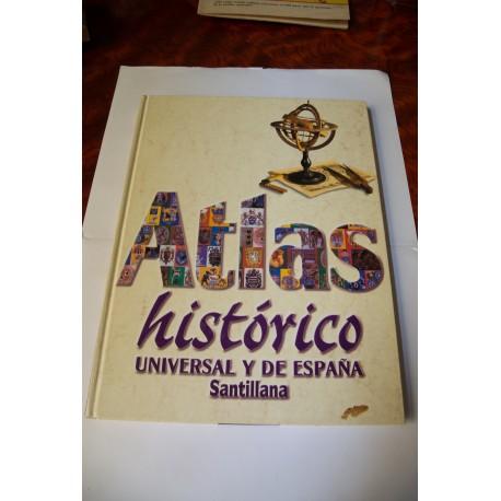 ATLAS HISTÓRICO UNIVERSAL Y DE ESPAÑA