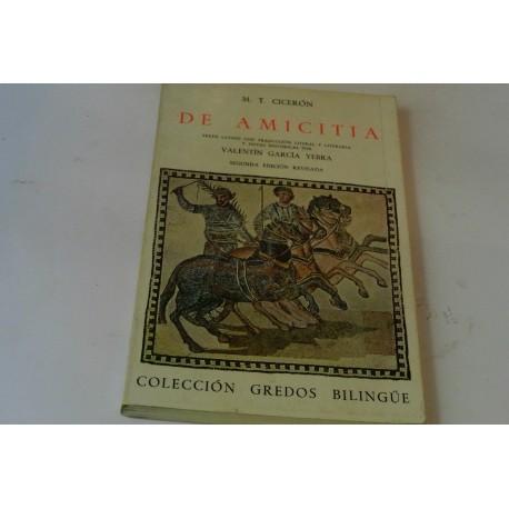 DE AMICITIA
