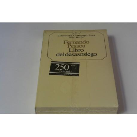 LIBRO DEL DESASOSIEGO. Nº 81 COLECCIÓN SEIX BARRAL