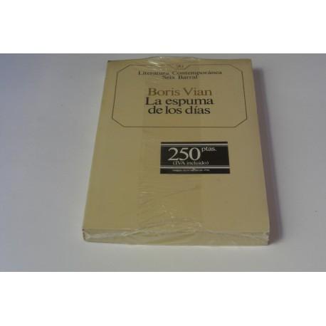 LA ESPUMA DE LOS DÍAS. Nº 90 COLECCIÓN SEIX BARRAL