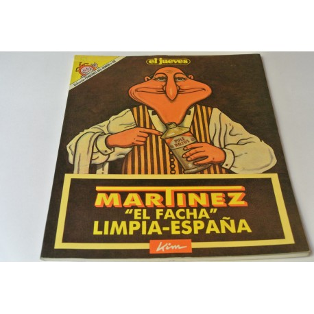 """MARTÍNEZ """"EL FACHA"""" LIMPIA ESPAÑA Nº 60 COLECCIÓN PENDONES DEL HUMOR"""