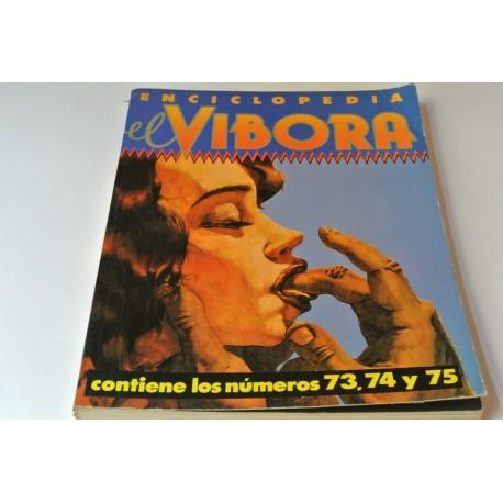 ENCICLOPEDIA EL VÍBORA. NÚMERO 73-74-75