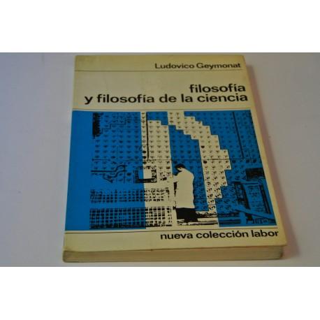 FILOSOFÍA Y FILOSOFÍA DE LA CIENCIA