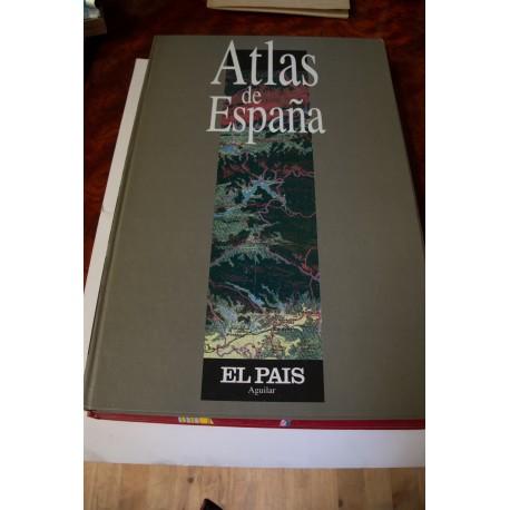 ATLAS DE ESPAÑA I COLECCIONABLE EL PAIS