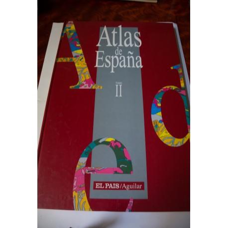 ATLAS DE ESPAÑA II. COLECCIONABLE DE EL PAÍS