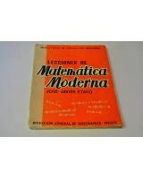 LECCIONES DE MATEMÁTICAS MODERNA