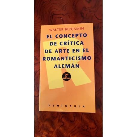 EL CONCEPTO DE CRITICA DE ARTE EN EL ROMANTICISMO ALEMÁN