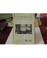 CUADERNOS HISPANOAMERICANOS. NÚMEROS 238-240. OCTUBRE-DICIEMBRE. 1969