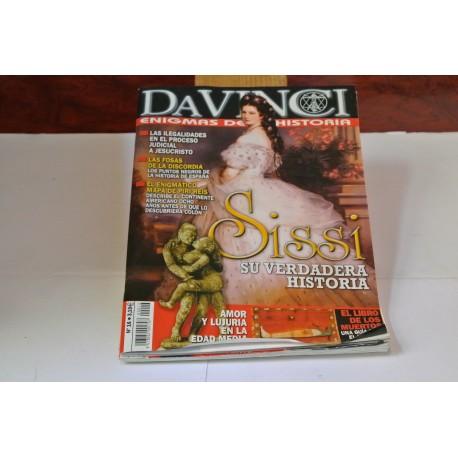 DAVINCI. ENIGMAS DE LA HISTORIA. NÚMEROS 14-16-26