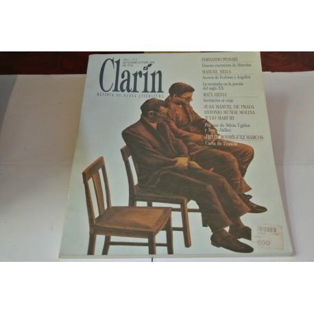 CLARÍN. REVISTA DE NUEVA LITERATURA. Nº 5