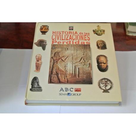 HISTORIA DE LAS CIVILIZACIONES PERDIDAS. COLECCIONABLE DEL ABC