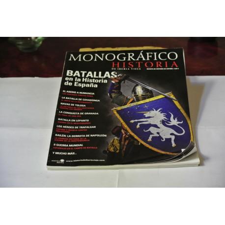 REVISTA HISTORIA DE IBERIA VIEJA. MONOGRÁFICO Nº 1. LAS BATALLAS DE LA HISTORIA DE ESPAÑA