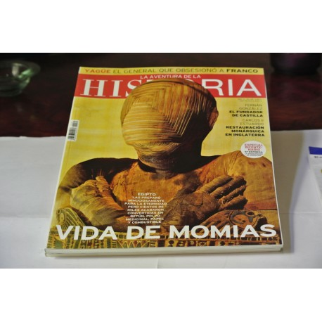 REVISTA LA AVENTURA DE LA HISTORIA.