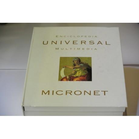 ENCICLOPEDIA UNIVERSAL MULTIMEDIA MICRONET. 1998