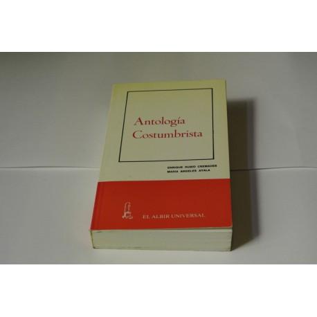 ANTOLOGÍA COSTUMBRISTAS