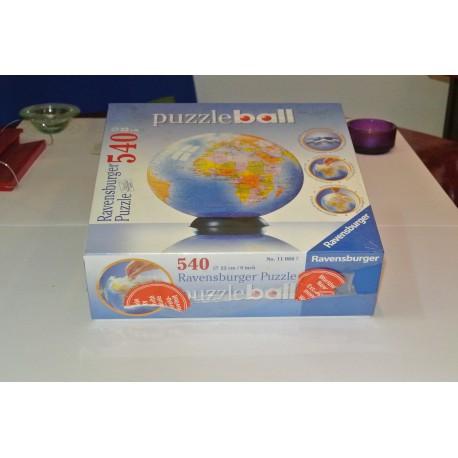 3D PUZZLE BALL. MAPAMUNDI DE LA TIERRA.