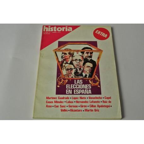 HISTORIA 16 NÚMEROS EXTRAS. COLECCIÓN HISTORIA 16