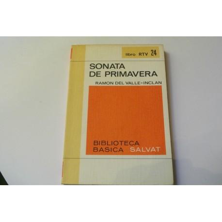 SONATA DE PRIMAVERA. MEMORIAS DEL MARQUÉS DE BRADOMÍN. COLECCION RTV.