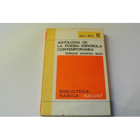 ANTOLOGÍA DE LA POESÍA CONTEMPORÁNEA. COLECCIÓN RTV.