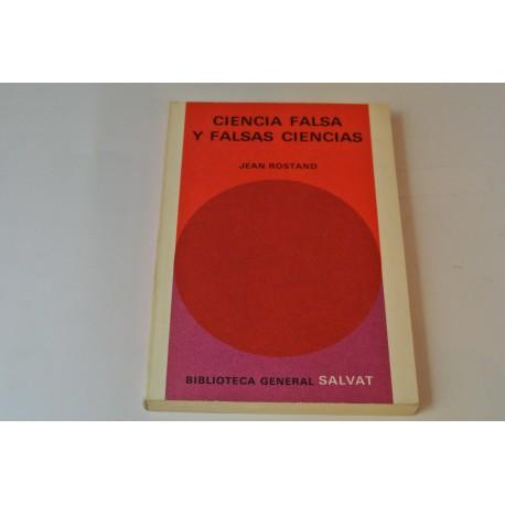 CIENCIA FALSA Y FALSAS CIENCIAS. Nº 22 COLECCIÓN SALVAT